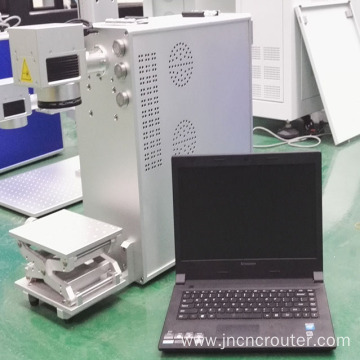 Laser fiber metal marking machine