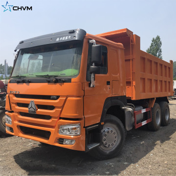 Mining used Dump Trucks Tipper Truck 375HP