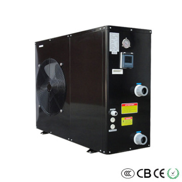 Black Metal Heat Pump Heater and Cooler