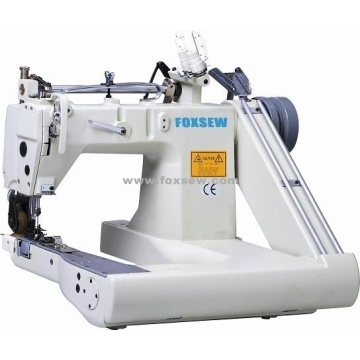 Double Needle Feed-off-the-Arm Sewing Machine (with Internal Puller)
