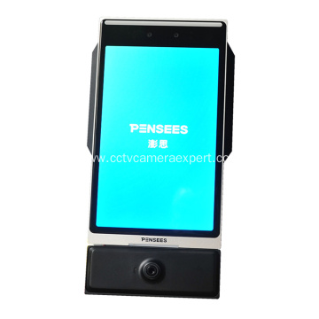Facial Recognition Infrared Temperature Scanner Access Control System