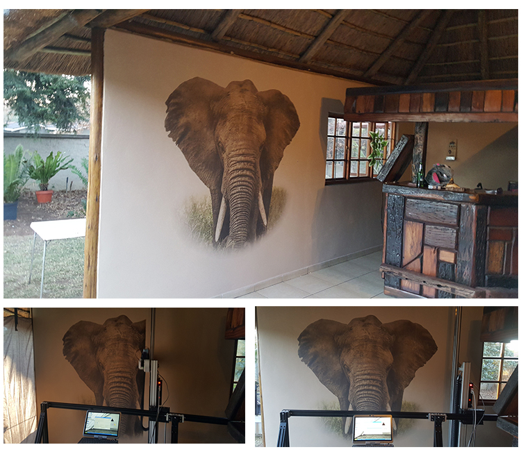 Wall Painting Printer Products Effect