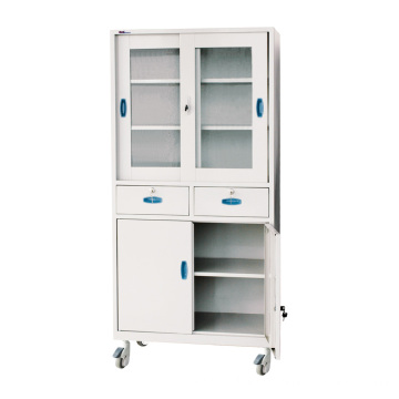 Hospital Steel Artistic Instrument Cabinet