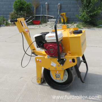 Vibrating mini single drum road roller compaction in stock FYL-D600