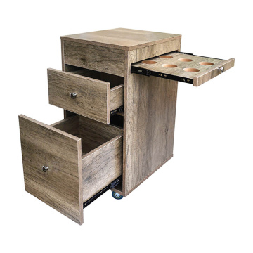 Wooden Salon Tray Trolley For Sale