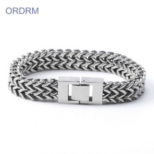 Latest Designs Mens Stainless Steel Chain Bracelet