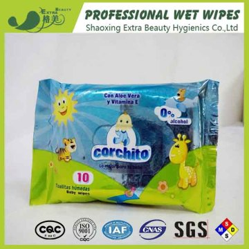 Wholesale Bamboo Hygiene Care Comfort Baby Wet Wipes