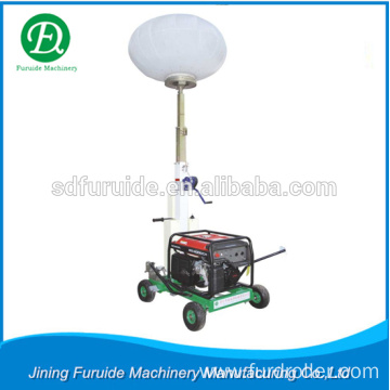 3 kw high mast lighting tower generator with balloon lamps