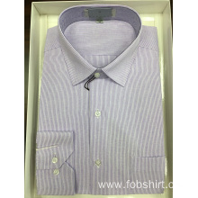 Cotton Stripes Business Shirt