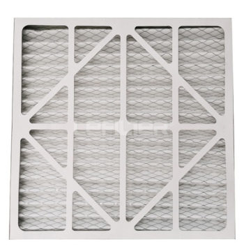 Cardboard Pleat Panel Air Filter for Ventilation System