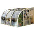 Retractable Sunroom Swimming Pool Commercial Patio Enclosure