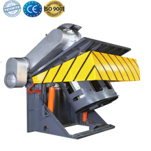 Energy saving metal melting steel shell induction furnace