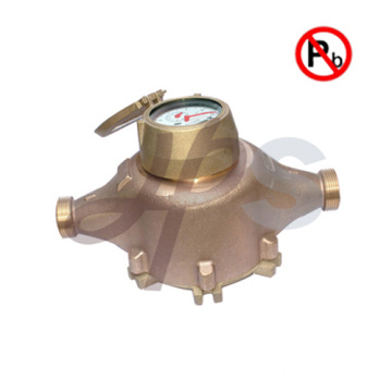 NSF Lead free brass or bronze AWWA water meter