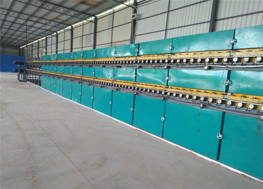 2甲板辊子单板干燥机