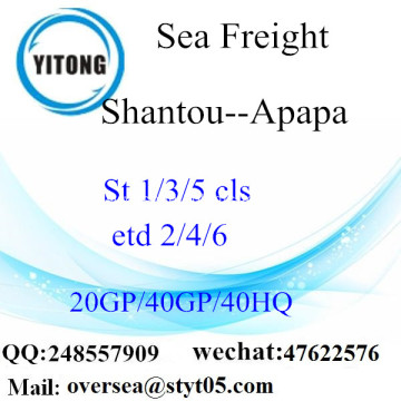 Shantou Port Sea Freight Shipping To Apapa