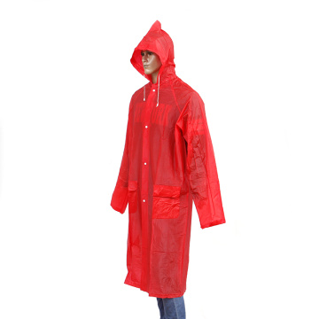 customized color adult long raincoat