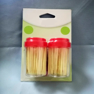 A Grade Bamboo Toothpick Bottle Set