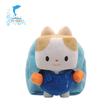 Good Quality Interactive Plush Blue Bag Custom