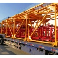 High standard double rotary QTZ80-6012-6T tower crane