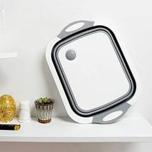 Multifunction Collapsible Cutting Board Dish Tub