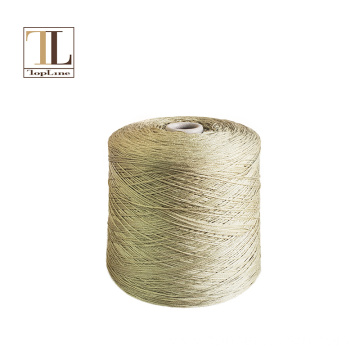 Topline natural tussah silk knitting yarn