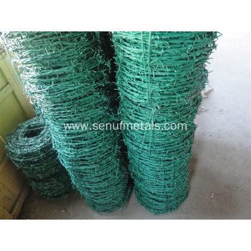 PVC PE coated barbed wire