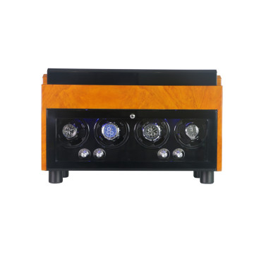 High-quality watch and jewelry box 4 rotors winder