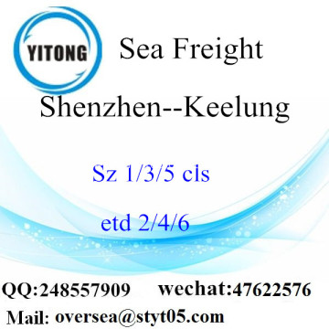Shenzhen Port LCL Consolidation To Keelung