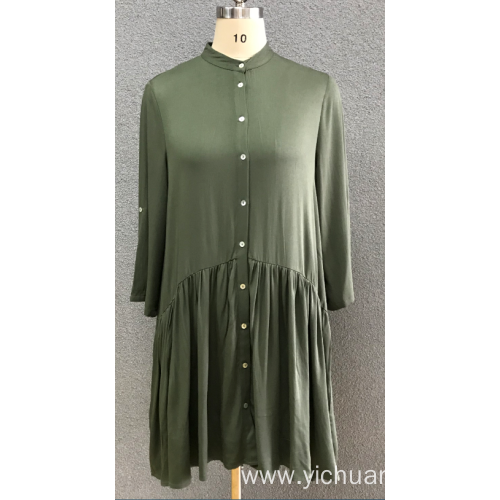 women's 3/4 sleeve dress