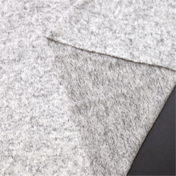 Popular Gray Coarse Needle Imitation Cashmere Fabric