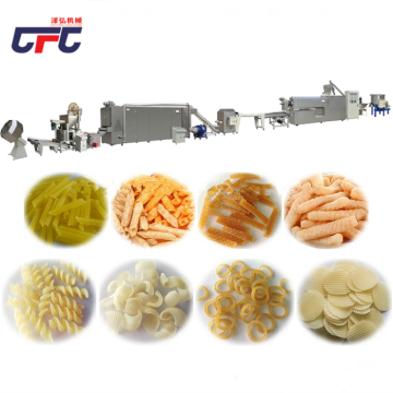 extruded crispy bugles processing production line