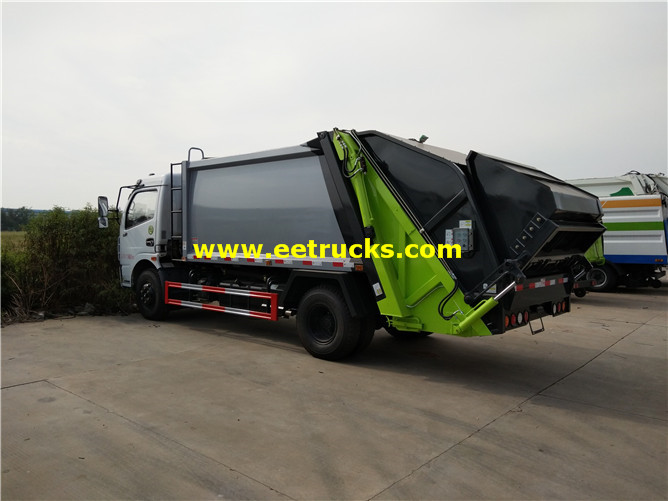 4x2 Refuse Compactor Vehicles