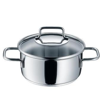 Stainless Steel Saucepot Casserole Single Pot
