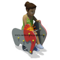 Cute Cartoon HPL Playground Spring Elephant Rider
