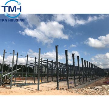 quick build steel structure warehouse with drawing