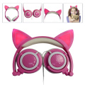 Original cute Cat Ear Pink Color Stylish Headphones