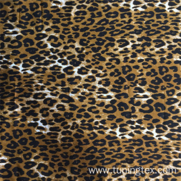 Winston Print Fabric With Leopard Print