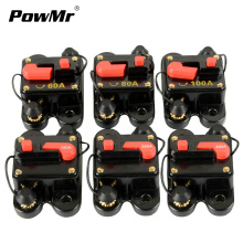 12V 24V DC Circuit Breaker Home Solar System Waterproof Breakers Reset Fuse Circuit Protection rcbo 60A 80A 100A 150A 200A 250A