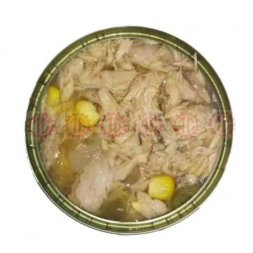 Canned Tuna Fish In Oil With Vegetables Salad