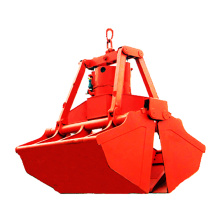 Mechanical hydraulic grab bucket for excavator crane