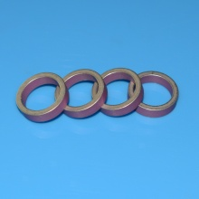 I-Pink Aluminium Oxide Metallized Ceramic Ring