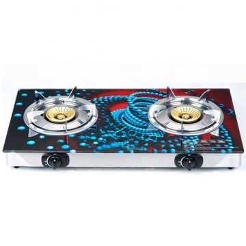 Butterfly Gas Stove 3 Burner Tempered Glass