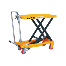 Manual Hydraulic Scissor Lifting Table Trolley