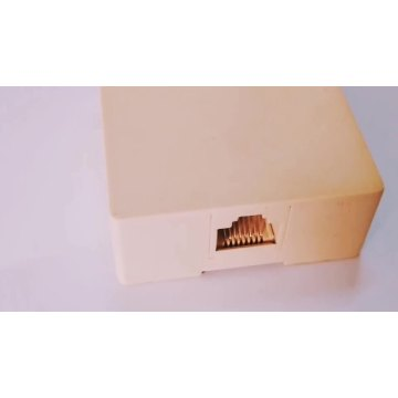 Cheap price RJ45 8P8C type surface box
