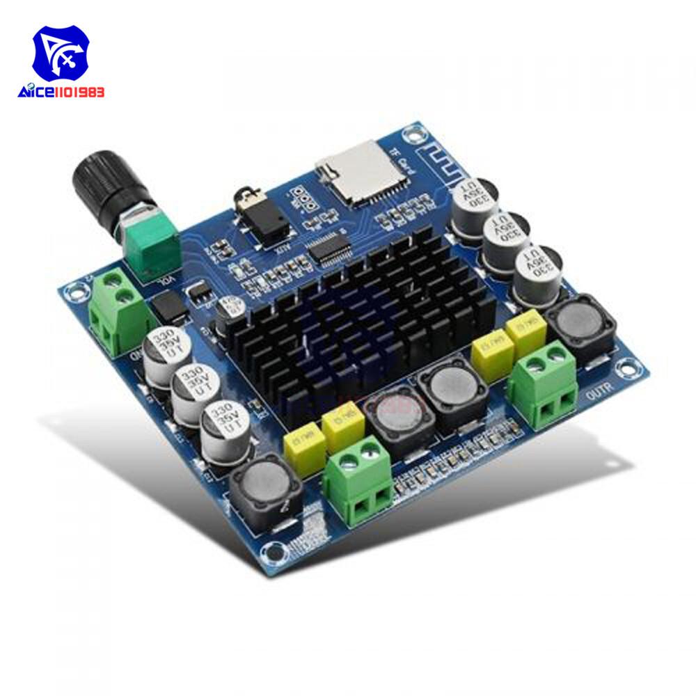 diymore TPA3116 Bluetooth 4.1/ Bluetooth 5.0 Digital Power Amplifier Board 50Wx2/100Wx2 Audio Stereo Amplifier Module DC 12 -30V
