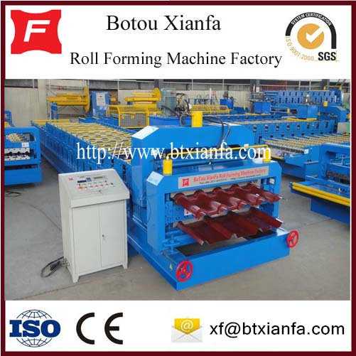 Color Coil Roof Automatic Profile Double Layer Machine