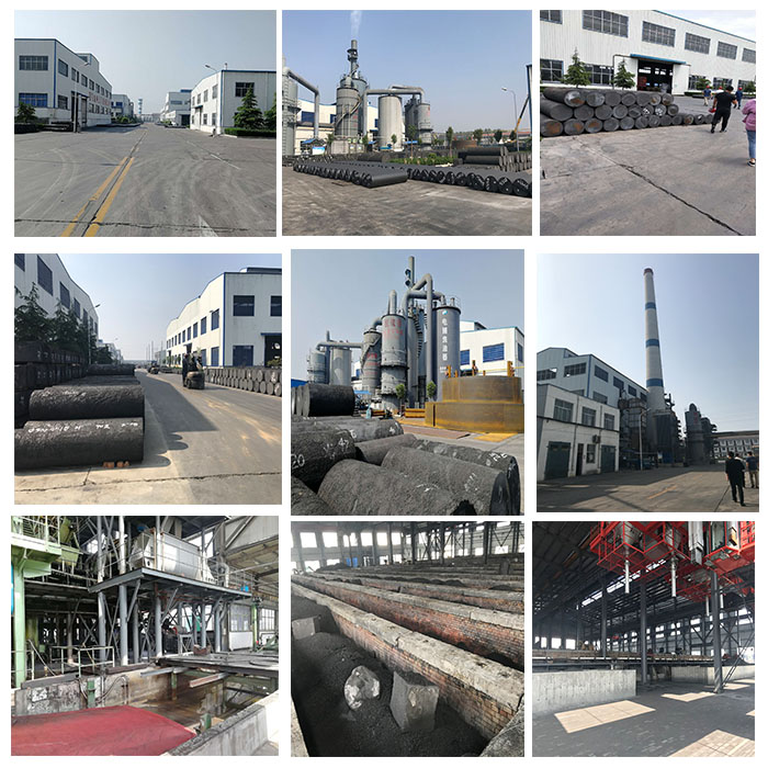 graphite electrode factory
