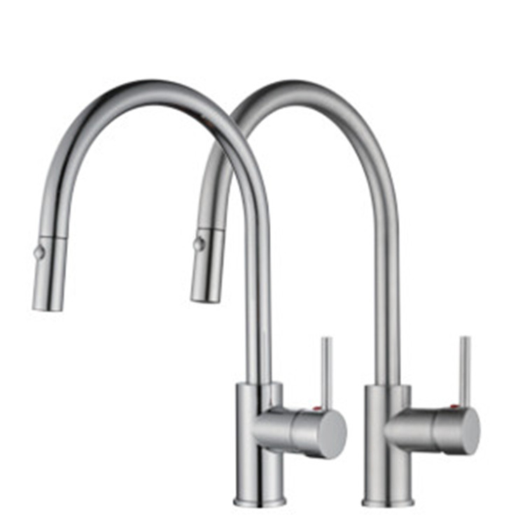 Kitchen Sink Pull Down Faucets