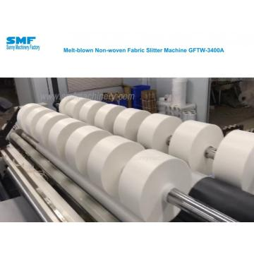 PP Meltblown NonWoven Fabric Slitting Machine Non Woven