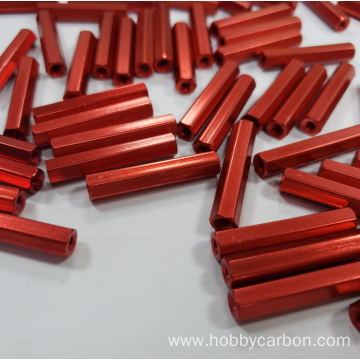 Colorful Surface Aluminum Round Spacers